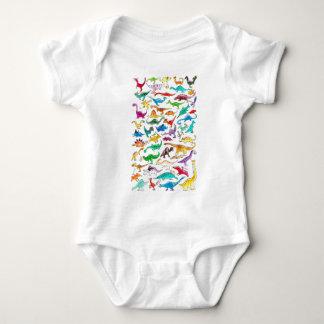 'Dinosaurs for beginners' Baby Bodysuit