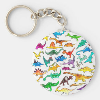 'Dinosaurs for beginners' Keychain