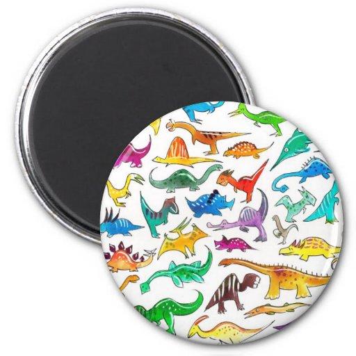 'Dinosaurs for Beginners' Magnet