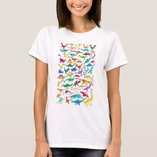 'Dinosaurs for beginners' Womens Fit Tee