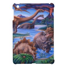 Dinosaurs Ipad Mini Cover at Zazzle