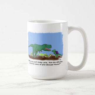 Dinosaurs know Latin Mugs
