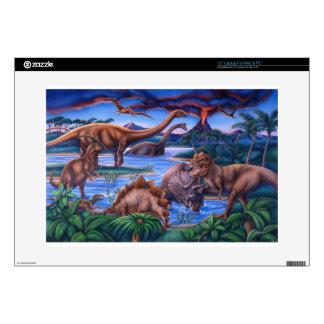 Dinosaurs Laptop Decal