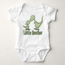 Dinosaurs Little Brother Baby Bodysuit