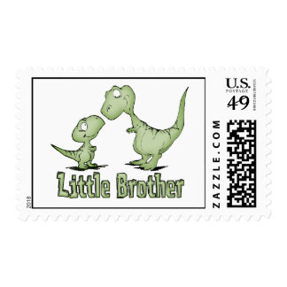 Dinosaurs Little Brother Stamp