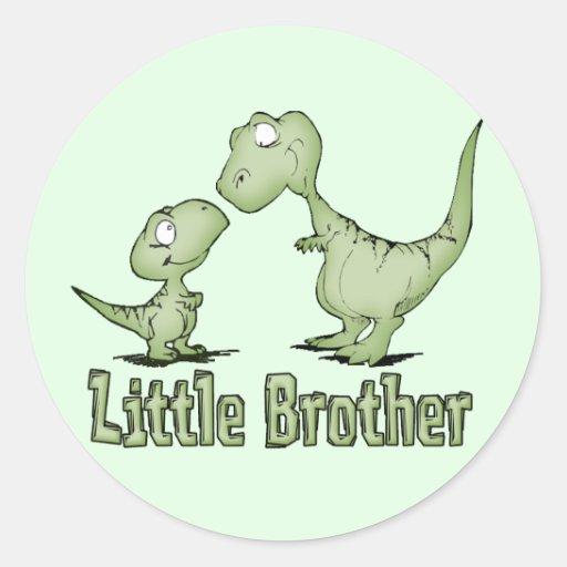 Dinosaurs Little Brother Sticker
