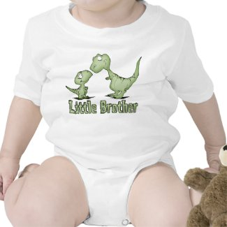 Dinosaurs Little Brother Tshirts