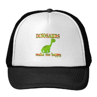 Dinosaurs Make Me Happy Trucker Hat