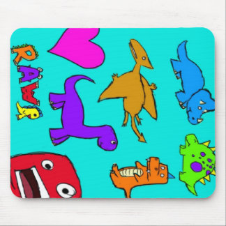 Dinosaurs! Mouse Pad