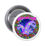 Dinosaurs New Years Button
