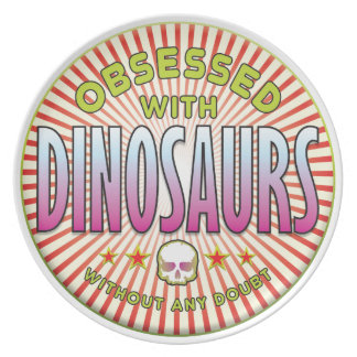 Dinosaurs Obsessed R Plates