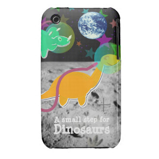 Dinosaurs on the Moon iPhone 3G/ 3GS Case iPhone 3 Case-Mate Case