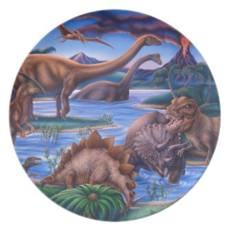Dinosaurs Party Plates