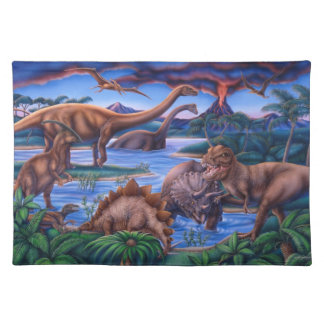 Dinosaurs placemat