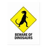 Dinosaurs Postcard