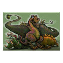 Dinosaurs Poster print