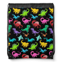 Dinosaurs rainbow backpack back to school