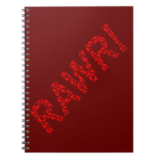 Dinosaurs rawr! notebook