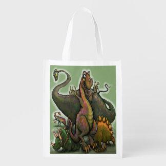 Dinosaurs Reusable Grocery Bag
