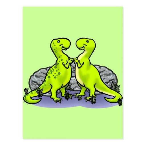 Dinosaurs Rock! Postcard