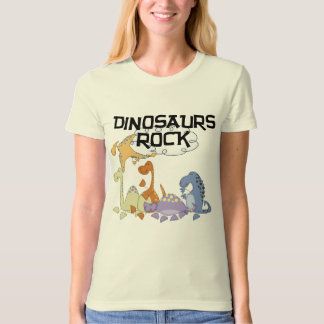 Dinosaurs Rock Tshirts and Gifts