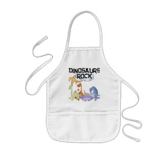 Dinosaurs Rock Tshirts and Gifts Kids' Apron