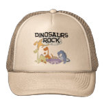 Dinosaurs Rock Tshirts and Gifts Mesh Hat