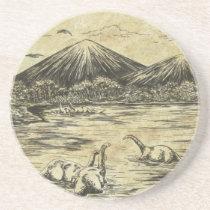 Dinosaurs Sandstone Coaster