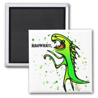 Dinosaurs say RRROWRRR! Magnet
