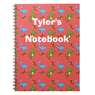 Dinosaurs Spiral Notebook