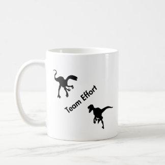 Dinosaurs Team Effort Coffee Mug
