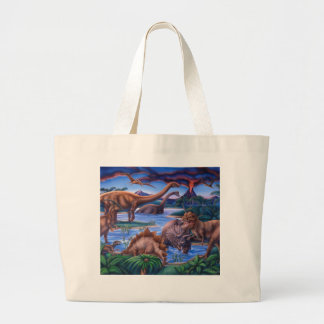 Dinosaurs Tote Bags