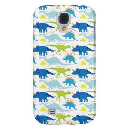 Dinosuar Designs Blue and Green Pattern Dino Gifts HTC Vivid / Raider 4G Cover