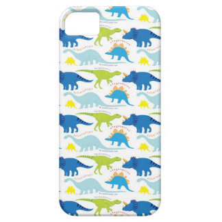 Dinosuar Designs Blue and Green Pattern Dino Gifts iPhone SE/5/5s Case