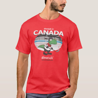 Dinotalk in Canada T-Shirt