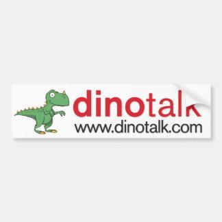 Dinotalk Logo Bumper Sticker