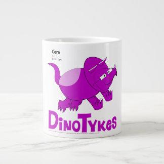Dinotykes Cera es un Triceratops Taza Grande