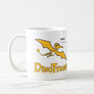 Dinotykes Rajan es un Rhamphorhynchus Taza Básica Blanca