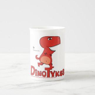 Dinotykes Ty es un Tyrannosaurus Rex Taza De Porcelana