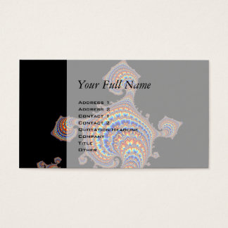 Dinozaur - Fractal Art Business Card
