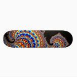 Dinozaur - Fractal Art Skateboard Deck