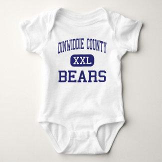 Dinwiddie County Bears Middle Dinwiddie Baby Bodysuit