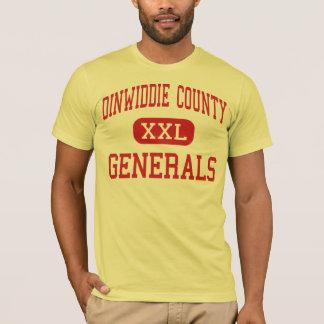 Dinwiddie County - Generals - High - Dinwiddie T-Shirt