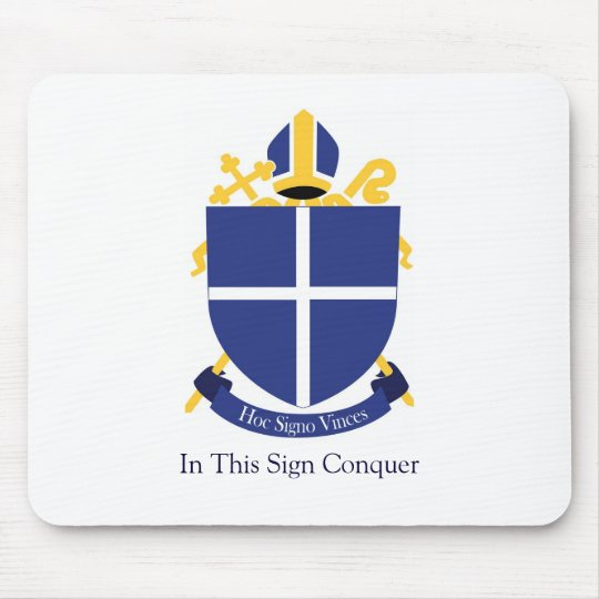 Diocese of the Holy Cross - Mousepad large crest