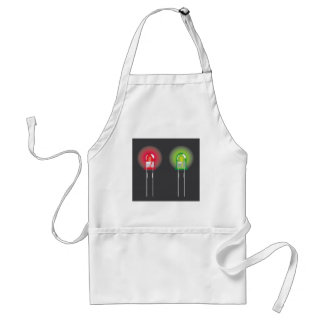 Diode Red and Green Adult Apron