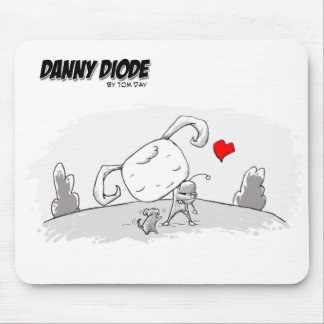 Diodo de Danny con Emma Mousepad