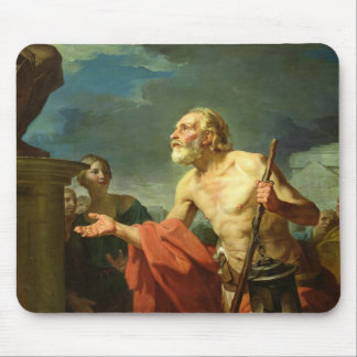 Diogenes Asking for Alms, 1767 Mouse Pad