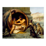 Diogenes by Jean-Leon Gerome Postcards