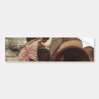 Diogenes by John William Waterhouse Bumper Sticker