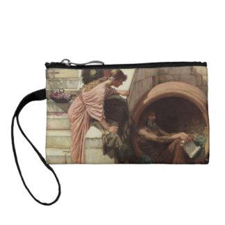 Diogenes by John William Waterhouse Change Purse